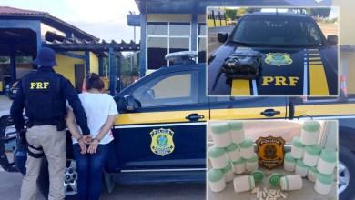 Photo of Chapada: Seis quilos de cocaína são apreendidos pela PRF com foragida da Justiça em Seabra
