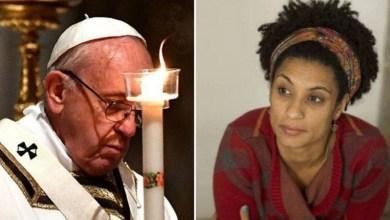 Photo of #Mundo: Papa Francisco telefona e conversa com a mãe da vereadora assassinada no Rio de Janeiro
