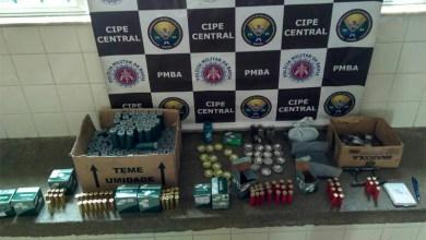 Photo of Chapada: Polícia localiza e desmonta comércio ilegal de munições no município de Ituaçu