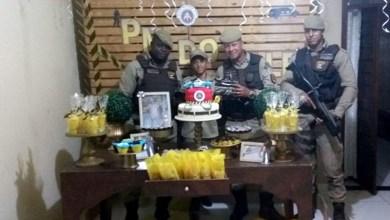 Photo of #Bahia: Polícia Militar realiza sonho de garoto e participa de aniversário em São Sebastião do Passé
