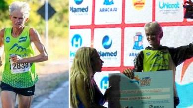 Photo of Chapada: Atleta de Ruy Barbosa recebe prêmio em Salvador de melhor corredor de rua da Bahia