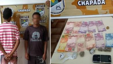 Photo of Chapada: Cipe prende dupla suspeita de tráfico no município de Marcionílio Souza