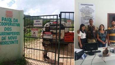 Photo of Cooperativa de garimpeiros de Novo Horizonte recebe a Cipe-Chapada para debater segurança