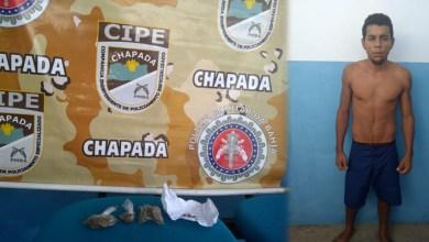 Photo of Chapada: Policiais da Cipe apoiam delegacia de Utinga e capturam foragido da justiça