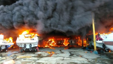 Photo of #Salvador: Incêndio destrói lanchas e jet skis em marina no bairro do Bonfim; veja vídeos