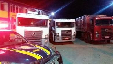 Photo of Chapada: Mais dois caminhões roubados foram recuperados pela PRF na região de Seabra