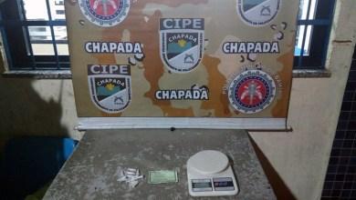 Photo of Chapada: Policiais da Cipe apreendem menor suspeito de tráfico de drogas em Ruy Barbosa