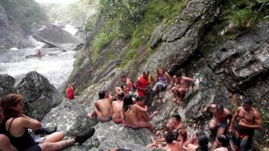 Photo of #Brasil: Grupo de 30 turistas fica ilhado em cachoeira na Chapada dos Veadeiros em Goiás