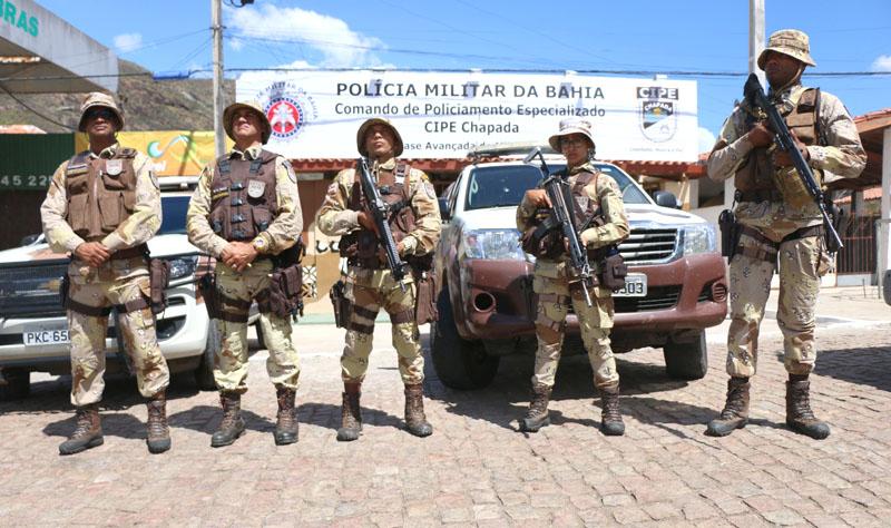 #Segurança: Policiais da Cipe-Chapada seguem com 'Operação São João' até a segunda na região