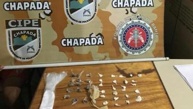 Photo of Chapada: Policiais da Cipe flagram funcionário da prefeitura de Ipupiara traficando drogas