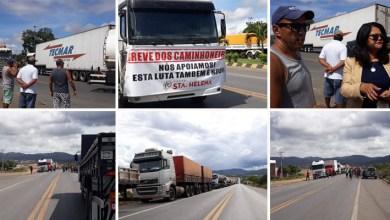 Photo of Chapada: Caminhoneiros fecham BR-242 em Itaberaba contra aumento do diesel; protestos seguem