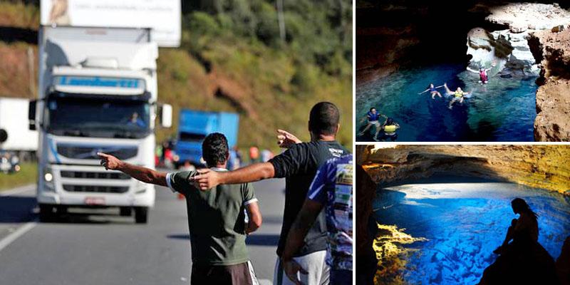 Turismo na Chapada Diamantina pode ser afetado com greve; postos não têm mais combustíveis na Bahia