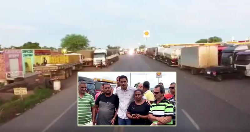 Itaberaba: Prefeitura toma medidas para enfrentar paralisação dos caminhoneiros; gestor declara apoio