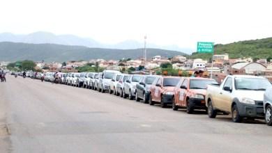Photo of Chapada: Único posto com combustível em Jacobina tem fila longa de veículos para abastecer
