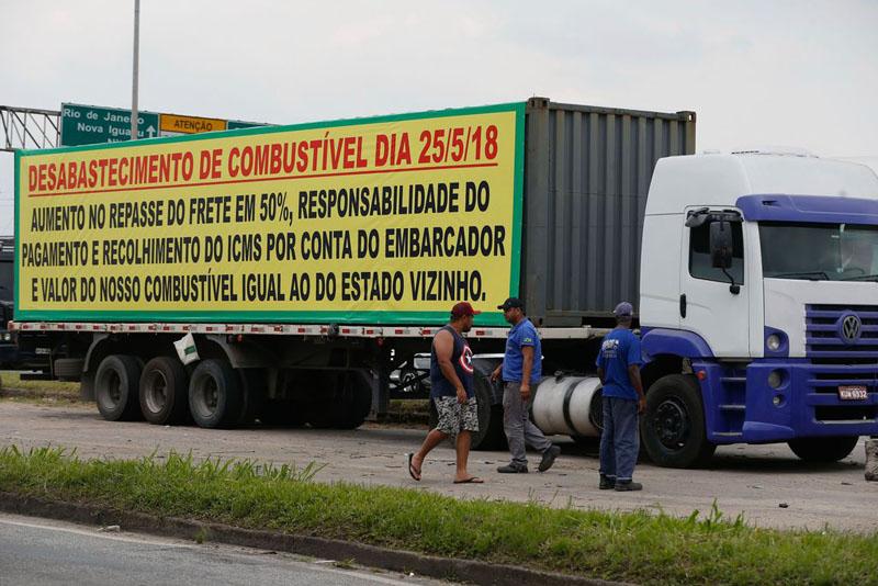 #Brasil: Associação dos Caminhoneiros diz que 'greve só termina com publicação no Diário Oficial'