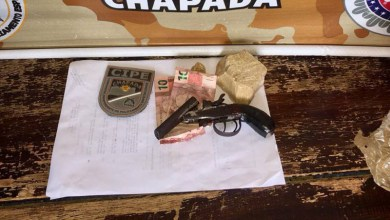 Photo of Iaçu: Policiais da Cipe-Chapada prendem homem que ameaçava população e apreendem arma e crack