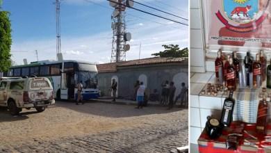 Photo of Chapada: Abordagem a ônibus termina com flagrante de whiskys falsificados em Xique-Xique