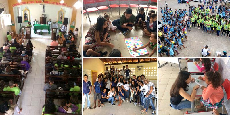 Chapada: Missão Marista de Solidariedade envolve estudantes de Nova Redenção em diferentes atividades