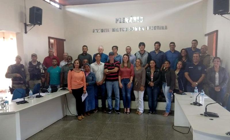 Chapada: Conselho Comunitário de Segurança Pública é constituído no município de Mucugê