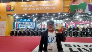 Photo of Chapada: Escritor baiano apresenta o livro 'Navegantes de Rua' durante Bienal Internacional em São Paulo