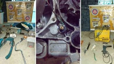 Photo of Chapada: Cipe recupera produtos roubados e descobre desmanche de veículos em Ruy Barbosa