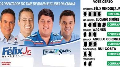 Photo of #Eleições2018: Deputado do DEM pede votos para chapa de reeleição de Rui Costa na Bahia