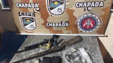 Photo of Chapada: Cipe encontra armas de fogo no telhado da casa de suspeito no município de Wagner