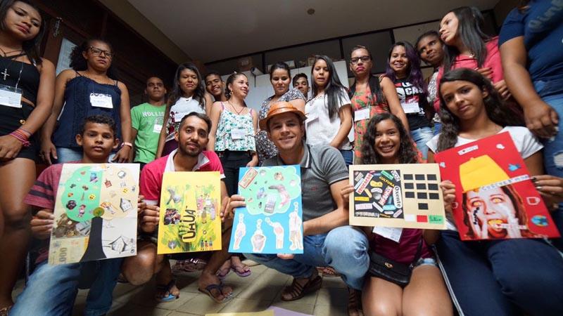 Jovens Comunicadores do sertão baiano participam de Intercâmbio em Salvador