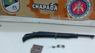 Photo of Chapada: Homem é preso sob a suspeita de tráfico de drogas em Iaçu; maconha e arma de fogo são apreendidas