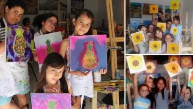 Photo of Chapada: Crianças de projeto artístico de Várzea Nova participam de exposição na Argentina