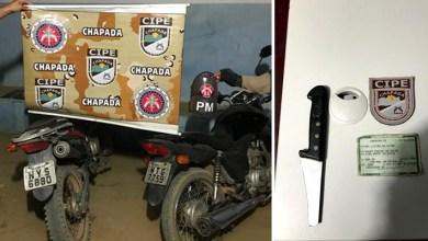 Photo of Chapada: Assaltante utilizava motocicleta do pai para cometer crimes em Utinga