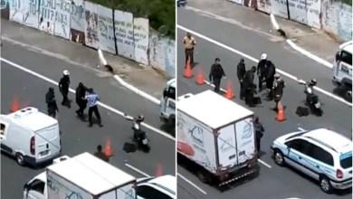 Photo of #Salvador: Guardas municipais agridem motoboy durante abordagem no Caminho das Árvores; veja vídeo