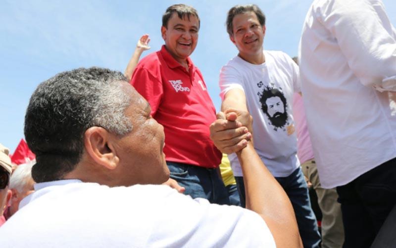 """""""Bahia e nordeste serão decisivos na eleição de Haddad"""", diz Valmir em Juazeiro"""