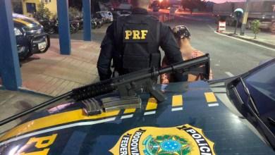 Photo of Chapada: Mulher é presa pela PRF com fuzil AR-15 na região do município de Itaberaba