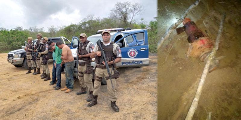 Chapada: Polícia prende irmãos envolvidos em furto de bomba de água em Lençóis