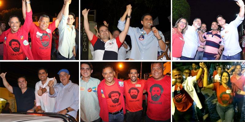 #Eleições2018: Prefeitos da Chapada Diamantina mostram força e seus candidatos vencem com votos casados