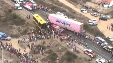 Photo of #Bahia: Identificadas vítimas de acidente com ônibus escolar na região de Santa Bárbara