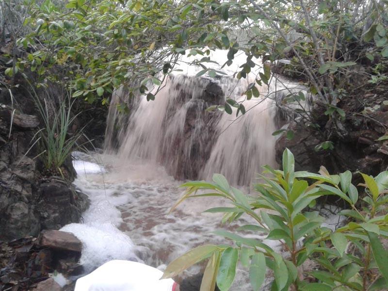 Chuvas atingem municípios da Chapada Diamantina e enchem cachoeiras e rios