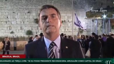 Photo of #Brasil: Bolsonaro confirma mudança de embaixada de Tel Aviv para Jerusalém