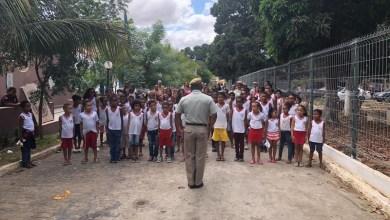 Photo of Chapada: Escolas Municipais de Itaberaba recebem projeto cívico da Polícia Militar