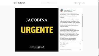 Photo of Chapada: Incêndio em Jacobina causa temor em moradores e, segundo deputado, ainda não foi debelado