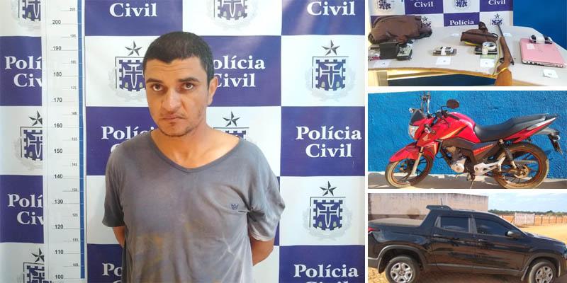 #Bahia: Autor de morte de sindicalista é preso em Central durante ação conjunta