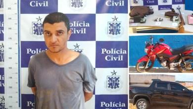 Photo of #Bahia: Autor de morte de sindicalista é preso em Central durante ação conjunta