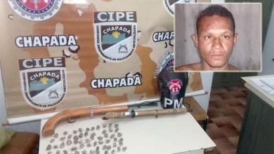 Photo of Chapada: Ação conjunta prende traficante em flagrante com armas e drogas em Marcionílio Souza