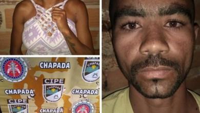 Photo of Chapada: Ação da Polícia Militar prende casal de traficantes no município de Wagner