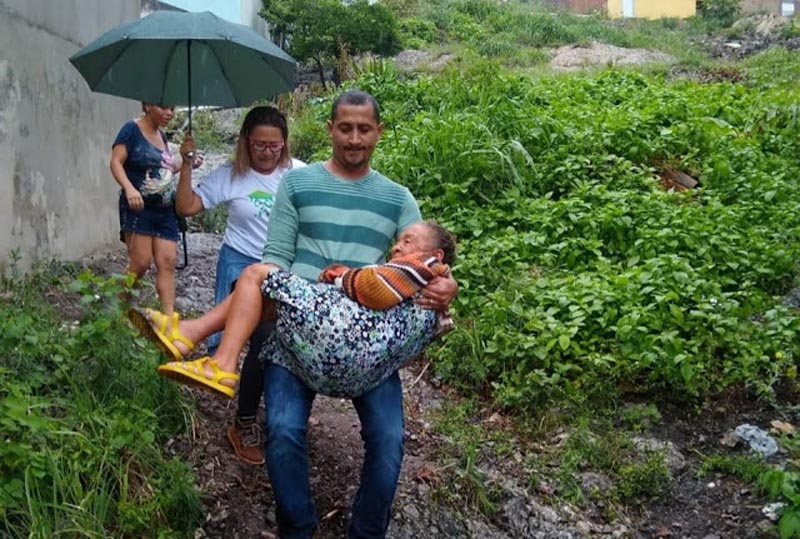 Chapada: Chuvas torrenciais causam prejuízos e preocupação a moradores de Jacobina