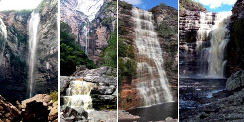 Chapada: Cachoeiras do Parque Nacional acessadas por Itaetê encantam nesta época do ano
