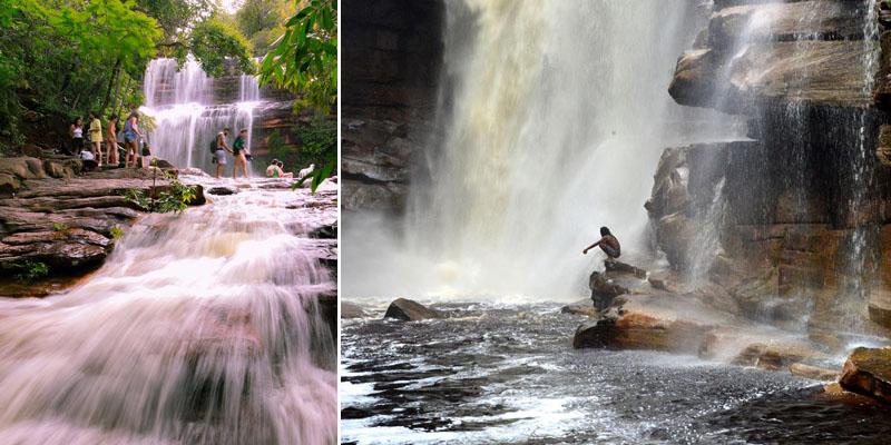 Chapada: Chuvas enchem rios e cachoeiras e provocam espetáculo da natureza; veja vídeos