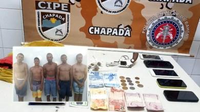 Photo of Chapada: Quadrilha que atuava em Iaçu é presa pela Cipe; arma de fogo, drogas e dinheiro são apreendidos