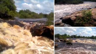Photo of Chapada: Trecho do Rio Paraguaçu no município de Iaçu encanta com volume de água; veja vídeo